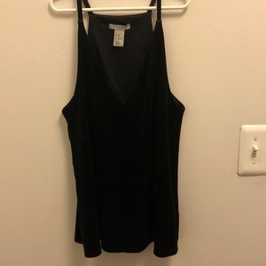 H&M velvet tank top. Worn once